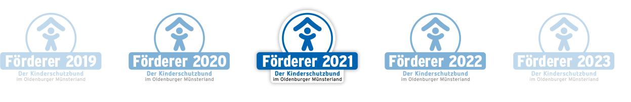 Förderer werden - Logo Banner